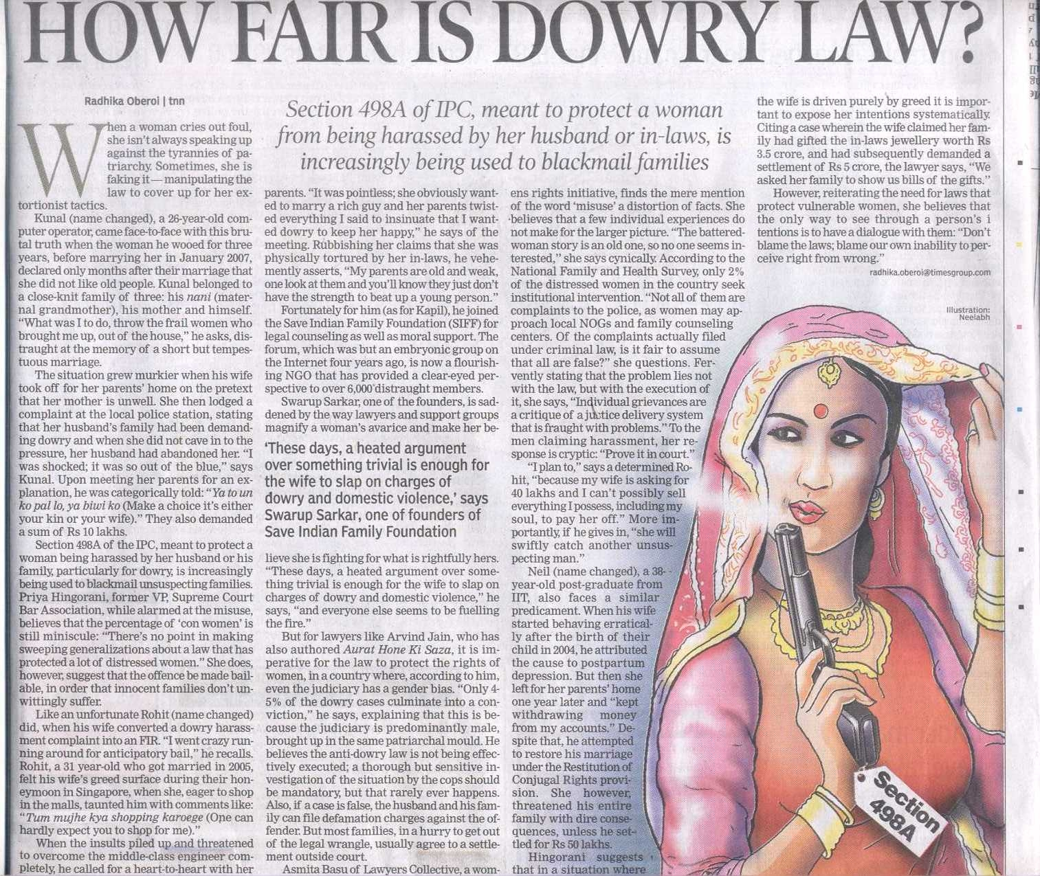 a review of women dowery deaths in india
